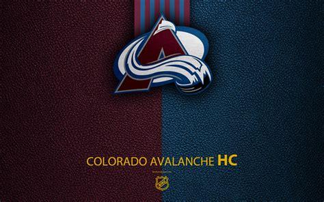 Download Wallpapers Colorado Avalanche, Hc, 4k, Hockey