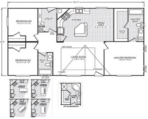 100 2001 fleetwood mobile home floor plans double