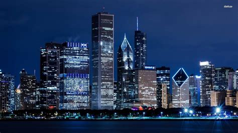 Free Chicago Photo by Chicago Skyline Backgrounds Wallpaper Cave