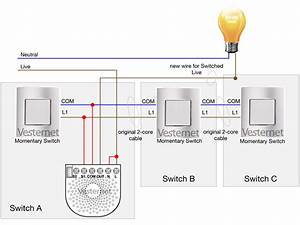 Three Way Switch Wiring With Dimmer