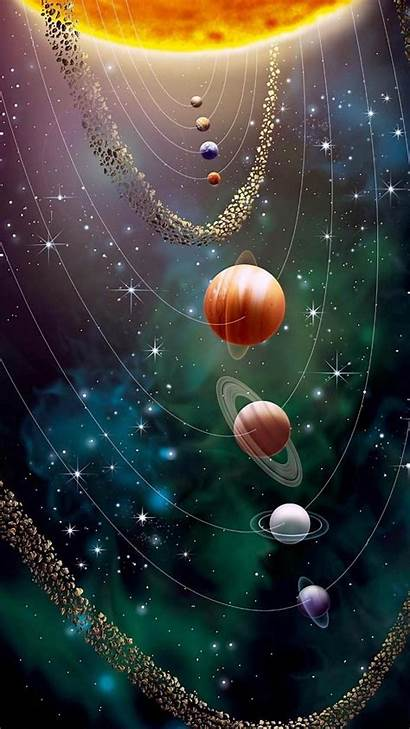 Cosmos Wallpapers Galaxy Planets Iphone Space Webapp