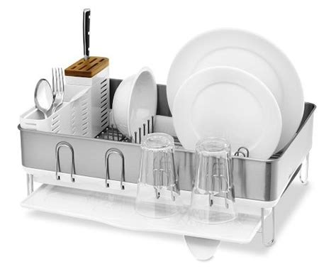 simplehuman dish rack reasonably priced beautiful ge