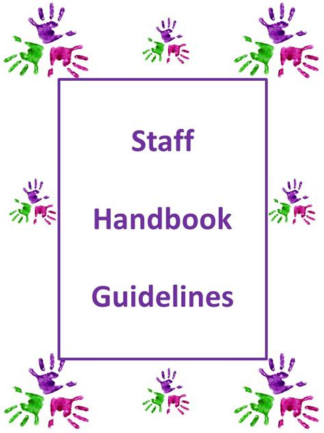 how to develop your own preschool staff handbook 942 | Staff Handbook thumbnail