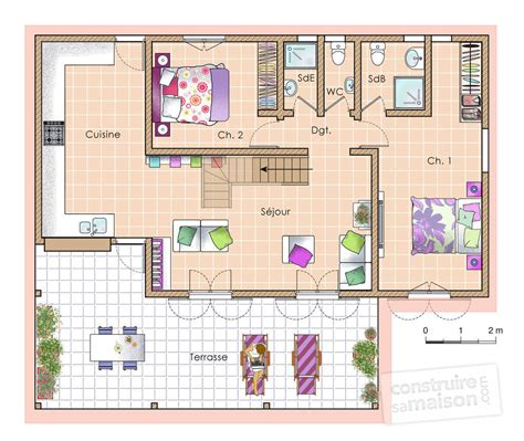 plans de maison plain pied 3 chambres maison antillaise à partir de 150 000 eur dé du plan