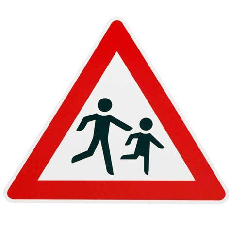 schild achtung kinder verkehrszeichen achtung kinder kinderschild schild vorsicht verkehrszeichen ebay
