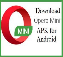 I give up and come back to the internet apk… Download Opera Mini APK Latest Version for Android - softbout.com