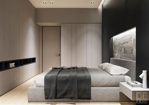 Two Apartments With Texture One Soft One Sleek by Two Apartments With Texture One Soft One Sleek Bedroom