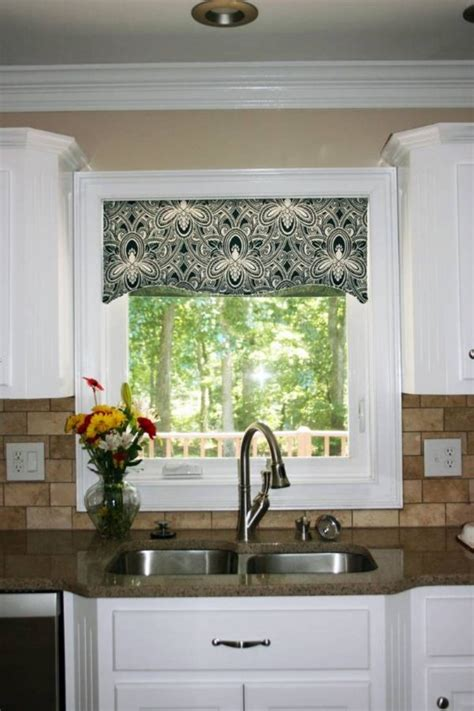 contemporary window valances updating  interior