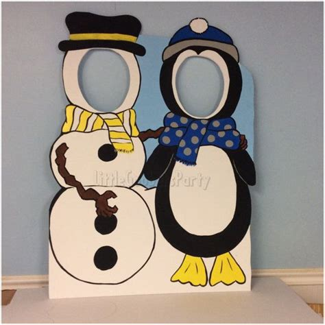 Winter Wonderland Photo Booth Prop Foam By Littlegoobersparty