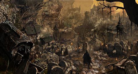 Dark Souls 2 Wallpaper 1080p Image Bloodborne Concept Art 2 Jpg Bloodborne Wiki Fandom Powered By Wikia
