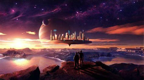 planet fantasy art wallpapers hd desktop  mobile