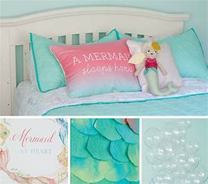Mermaids and Whales: a Shared Kid's Room
