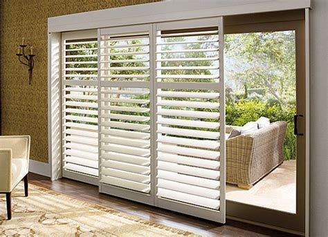 sliding glass doors with blinds valance window treatments for sliding glass doors home