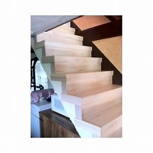 Habiller Un Escalier En Béton Brut : great habillage chataigner cerus sur escalier bton with habiller un escalier en bton brut ~ Nature-et-papiers.com Idées de Décoration