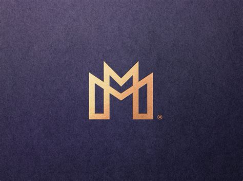 mm monogram  filip panov  dribbble