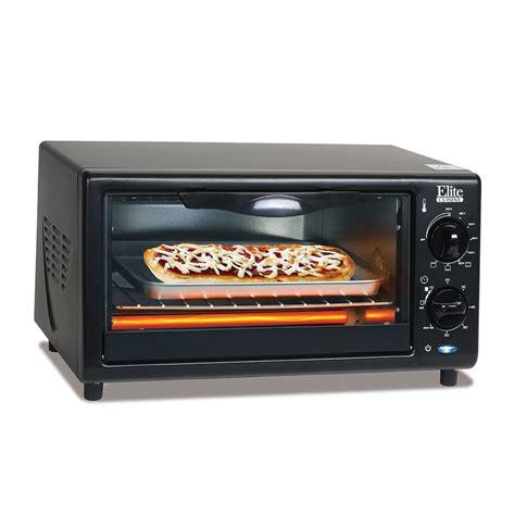 elite cuisine 4 slice toaster oven broiler eka 9210xb