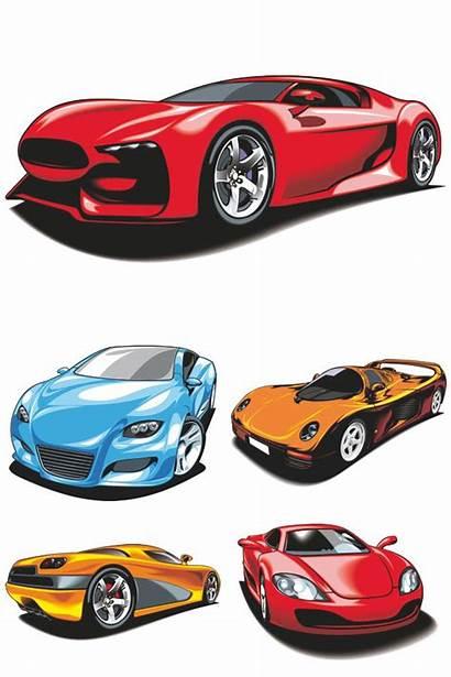 Vector Cars Sport Racing Illustrations Clip Graphics