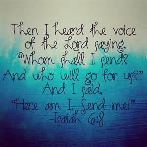 Isaiah 6 8