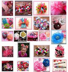 Hair Bow tutorials | Hairbows | Pinterest | Awesome ...