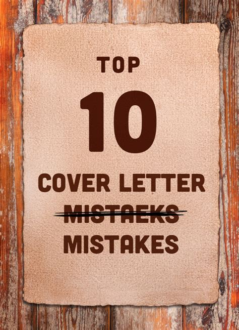 cover letter mistakes examples of resume blunders 21135 | top 10 cover letter mistakes