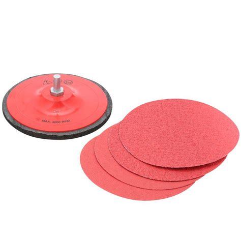 sanding disc kit drill grinding polishing final prep