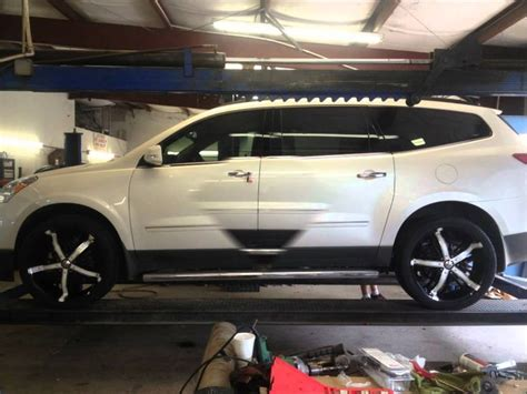 pin  kelly aase wiczek  rims chevrolet traverse