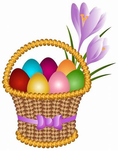 Easter Egg Clipart Basket Clip Transparent Eggs