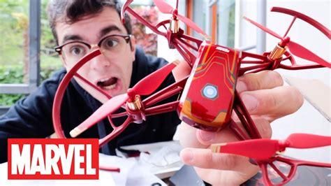 il nuovo incredibile drone  iron man dji ryze tello hero youtube