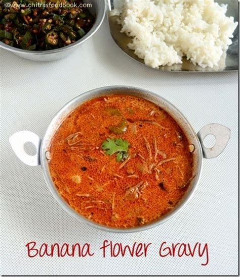 vazhaipoo kuzhambu recipebanana flower gravy vazhaipoo