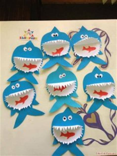 shark craft idea  kids crafts  worksheets  preschooltoddler  kindergarten