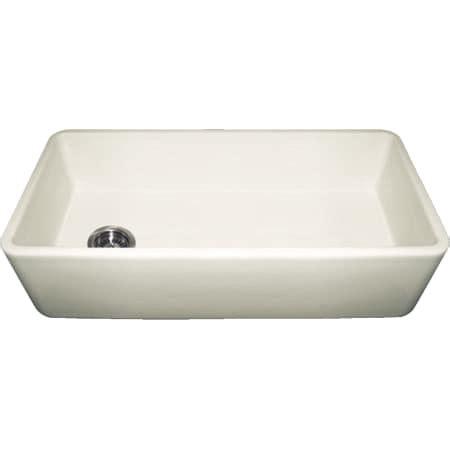 whitehaus kitchen sinks whitehaus wh3618 biscuit biscuit duet 36 quot single basin 1069