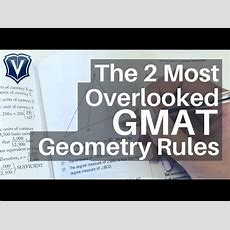 Gmat Webinar The 2 Most Overlooked Gmat Geometry Rules Youtube