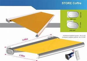 Store Banne Motorisé Coffre Intégral : store banne coffre int gral motoris toulouse menuiseries doumenc ~ Voncanada.com Idées de Décoration