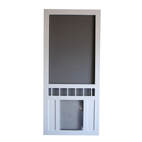screen door with door built in screen door