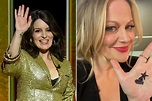 Tina Fey and Amy Poehler sent a secret message at the 2021 ...