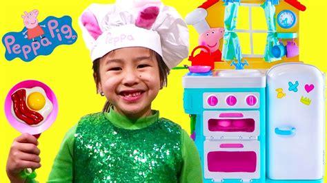 Jannie Pretend Play Cooking Kitchen Toyset Youtube