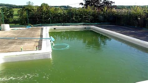 How To Clean A Green Swimming Pool Fast (part ) / How To