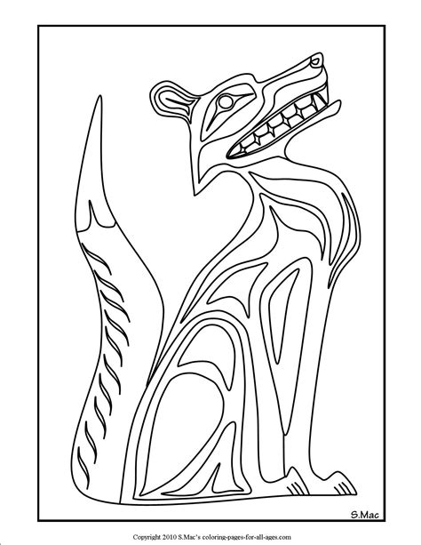 native american coloring pages    print
