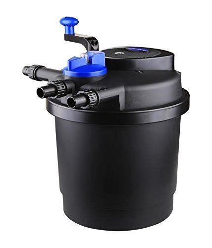 koi pond filter systems