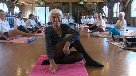 ont yoga teacher   worlds oldest ctv news