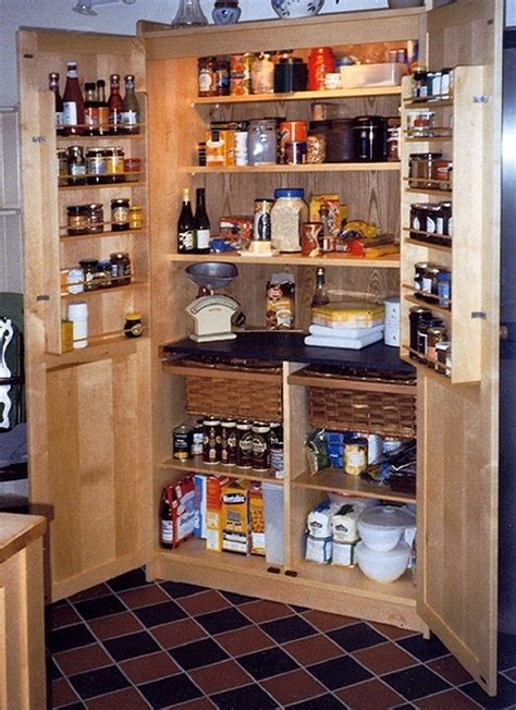build  freestanding pantry diy projects