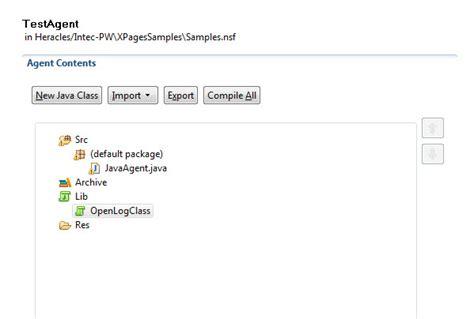 java classes agent pasting copying dde tip intec