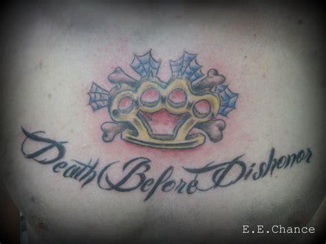 Brass Knuckles Dbd Tattoo By Eechance On Deviantart