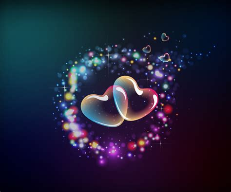 Cute Animated Love Heart Wallpapers For Mobile Hd
