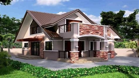 latest bungalow house design   philippines youtube