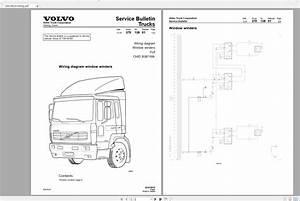 Volvo Fl6 Trucks Service Manual Buses  U0026 Wiring Diagrams