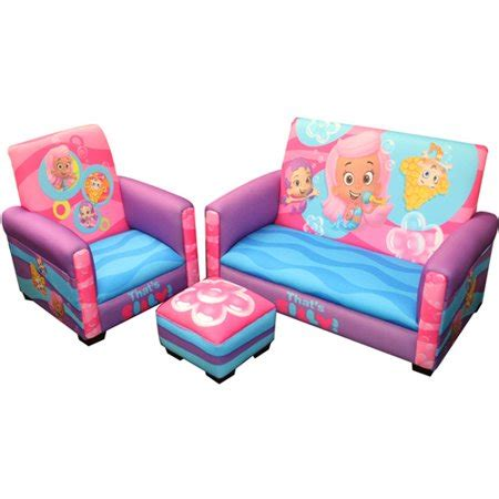 Sofa Chair For Toddler by Guppies That S Silly Toddler 3 Pc Walmart