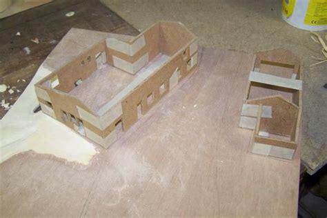fabriquer une vitrine pour maquette corps de ferme diorama d une ferme en pierres naturelles