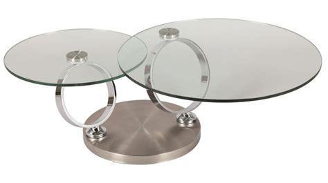 table de salon en verre trempe table basse en verre trempe but ezooq