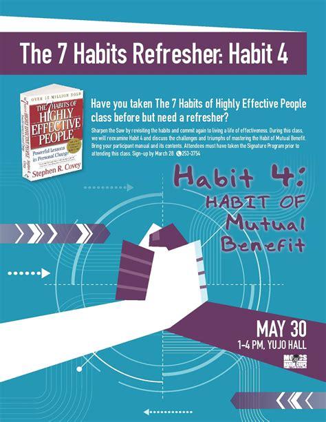 Resume 7 Habits by The 7 Habits Refresher Habit 4 Mccs Iwakuni Events 7
